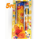 5-Piece Kids Winnie-the-Pooh Stationery Set School Supplies