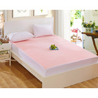 Luxe Waterproof Fitted Sheet and Mattress Protector Queen Size 150cm (Pink/Apricot)