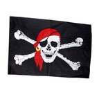 Large Jolly Roger Pirate Flag - 90cm x 150cm