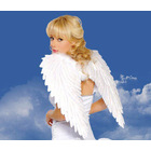 White Feather Angel Wings Party Costume - Large Size