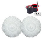 2 x Microfiber Spin Mop Heads ( 2 Mop Pads Only)