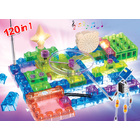 120 in 1 Electronic Interactive Building Blocks Educational Toy Kit