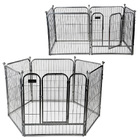 Premium Heavy Duty Metal Pet Dog Exercise Playpen (60x70 x 6)