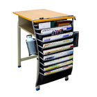 Desk Side Cascading Document Organizer