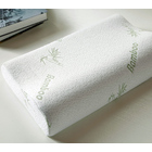 Memory Foam Pillow with Bamboo Fiber Cover