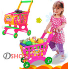 Shopping Trolley & Groceries Toy Set