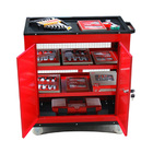 Large Lockable Toolbox Cabinet Tool Trolley
