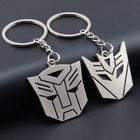 2 PC Set Transformers Autobot & Decepticon 3D Keyrings