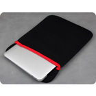 "15"" inch Laptop Tablet Sleeves Notebook PC Case Reversible Soft Bag Black"