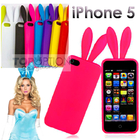iPhone 5 Bunny Rabbit Ears Silicone Phone Case