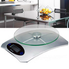 5kg Electronic Digital Glass Top Kitchen Scale