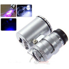 60x Magnifier LED Lighted Mini Microscope