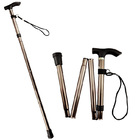 Foldable Portable Aluminum Walking Stick Cane
