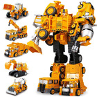 5 In 1 Robot Truck Transformer Toy