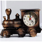 Deluxe Vintage Train Alarm Clock (Copper)