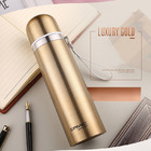 Stainless Steel Thermal Flask (Gold)