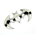 3D Batman Badge Car Sticker Auto Decal Self-adhesive