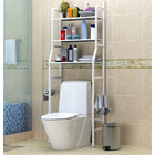 3 Tier Space-saving Bathroom Over Toilet Rack Storage Shelf Organizer