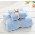 2PCS Luxury Bath Towel (Blue)