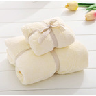 2PCS Luxury Bath Towel (Cream)