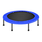 "40"" Mini Trampoline Home Fitness Gym (Blue)"