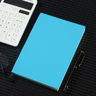 2 x PU Leather Covered Notebook (2 pack) (Blue)