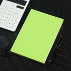 2 x PU Leather Covered Notebook (2 pack) (Green)