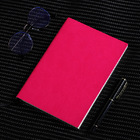 2 x PU Leather Covered Notebook (2 pack) (Pink)