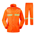 Hi Vis Rain Coat & Trousers Set