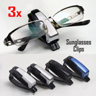 3 x Sunglasses Clips