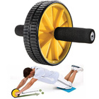 Abdominal Wheel Ab Roller Total Body Exerciser with Knee Pad