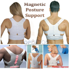 Premium Magnetic Posture Corrector Back Shoulder Support (Premium Quality)