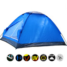 2 Person Tent Waterproof UV Resistant (Blue)