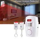 PIR House Alarm Infrared Sensor & Remote Control Set