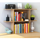 Uptown Desk Hutch Storage Shelf Unit Organizer (Natural Oak)