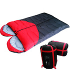 2 x Heart Shaped Sleeping Bags 2-Person Double (Left & Right)