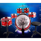 6PCS Kids Jazz Drum Toy Set (RED)
