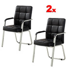 2 x Premier Office Visitor Conference Chair