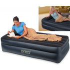 Intex Inflatable Mattress Air Bed with Built-in Pillow - Twin Single