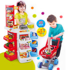 Deluxe Supermarket Toy Set with Shopping Trolley