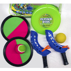 7PCS 3 in 1 Catch Ball / Scoop Ball / Flying Disc Sports Play Set