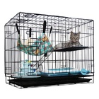 Double Level Pet Cat Bird Cage