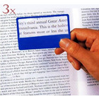 3 x  Magnifiers Credit Card Size Reading Glass Magnifying Lens