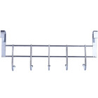 Large Wavy 5 Hook Over Door Hanger Hanging Rack