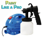 Paint Like A Pro Powered Spray Gun Kit