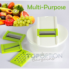 Multipurpose Grater Slicer 4 IN 1