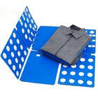 LARGE Flip Fold Clothes Folder Laundry Organizer BLUE