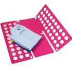 LARGE Flip Fold Clothes Folder Laundry Organizer PINK