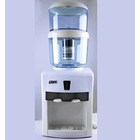 Bench Top Water Cooler/Heater with Filter Purifier Bottle