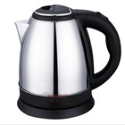 Cordless Stainless Steel Electric Kettle 2L Chrome Rim